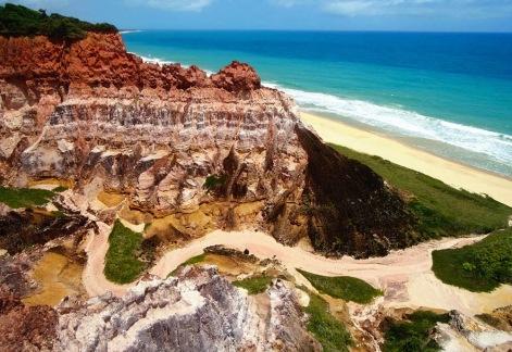 Praia-do-Gunga-Falesias-Alagoas